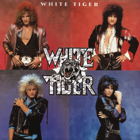 White Tiger Album Cover
